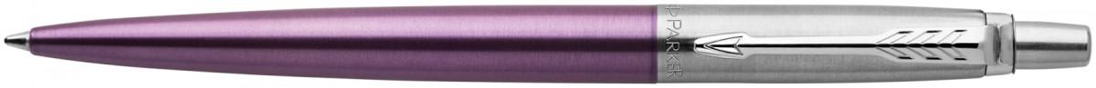 Parker Jotter Ballpoint Pen - Victoria Violet Chrome Trim