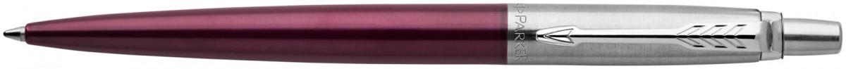 Parker Jotter Ballpoint Pen - Portobello Purple Chrome Trim