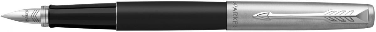 Parker Jotter Fountain Pen - Bond Street Black Chrome Trim (Gift Boxed)