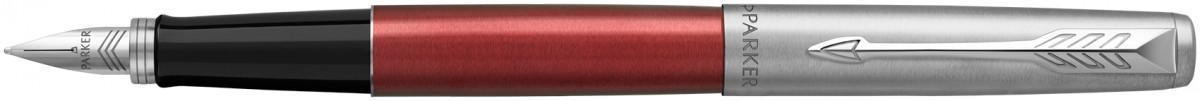 Parker Jotter Fountain Pen - Kensington Red Chrome Trim (Gift Boxed)