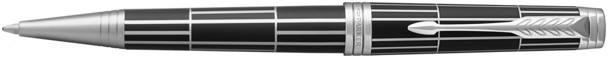 Parker Premier Ballpoint Pen - Luxury Black Palladium Trim