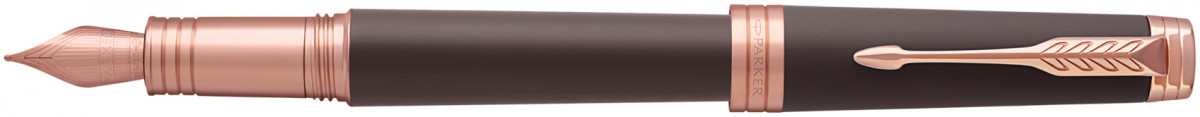 Parker Premier Fountain Pen - Soft Brown Pink Gold Trim