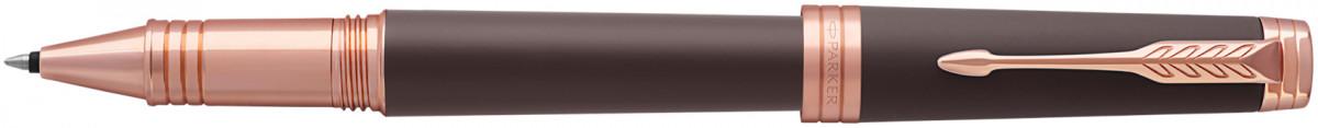 Parker Premier Rollerball Pen - Soft Brown Pink Gold Trim