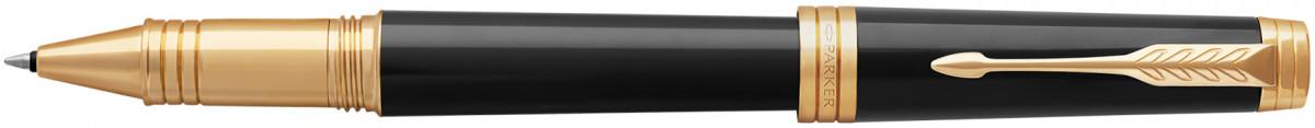 Parker Premier Rollerball Pen - Black Lacquer Gold Trim