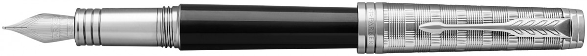 Parker Premier Fountain Pen - Custom Tartan Lacquer & Metal