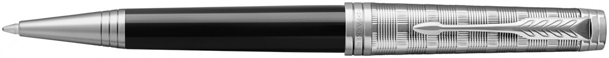 Parker Premier Ballpoint Pen - Custom Tartan Lacquer & Metal