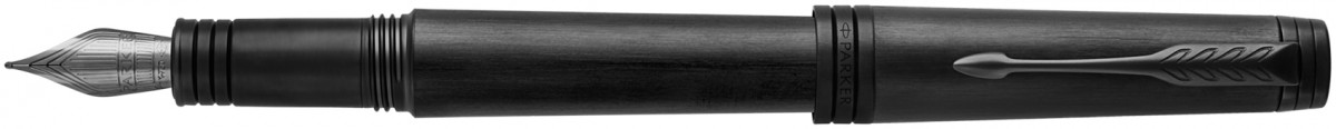 Parker Premier Fountain Pen - Monochrome Black PVD
