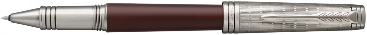 Parker Premier Rollerball Pen - Crimson Red Ruthenium Trim