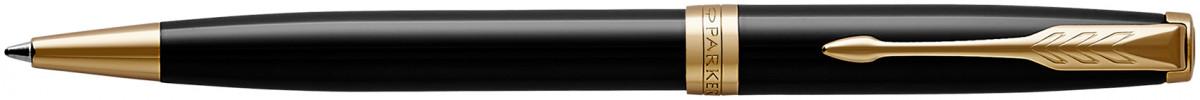 Parker Sonnet Ballpoint Pen - Black Lacquer Gold Trim