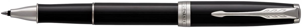 Parker Sonnet Rollerball Pen - Black Lacquer Chrome Trim