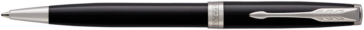 Parker Sonnet Ballpoint Pen - Black Lacquer Chrome Trim