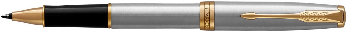 Parker Sonnet Rollerball Pen - Stainless Steel Gold Trim