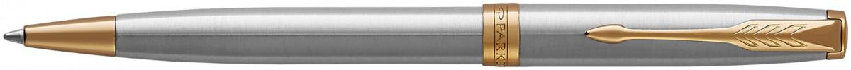Parker Sonnet Ballpoint Pen - Stainless Steel Gold Trim