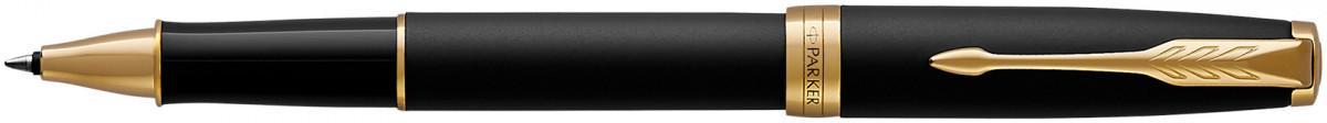 Parker Sonnet Rollerball Pen - Matte Black Gold Trim