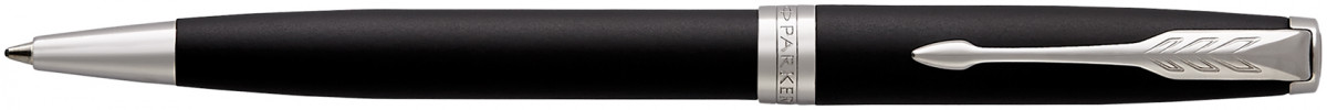 Parker Sonnet Ballpoint Pen - Matte Black Chrome Trim
