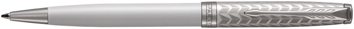 Parker Sonnet Ballpoint Pen - Metal Pearl Lacquer Chrome Trim