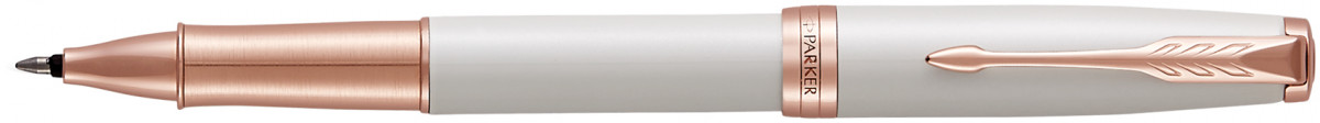 Parker Sonnet Rollerball Pen - Pearl Lacquer Pink Gold Trim