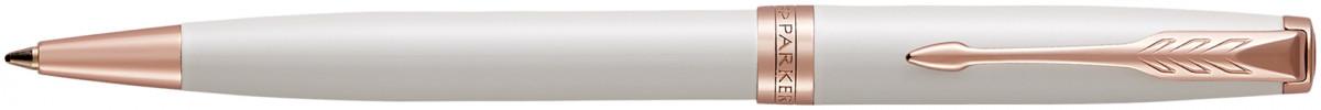 Parker Sonnet Ballpoint Pen - Pearl Lacquer Pink Gold Trim