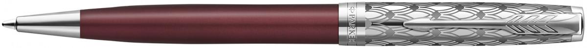Parker Sonnet Premium Ballpoint Pen - Metal & Red