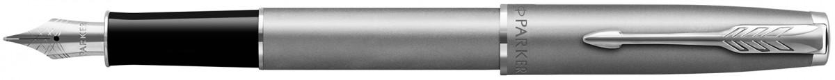 Parker Sonnet Essentials Fountain Pen - Sandblasted Steel
