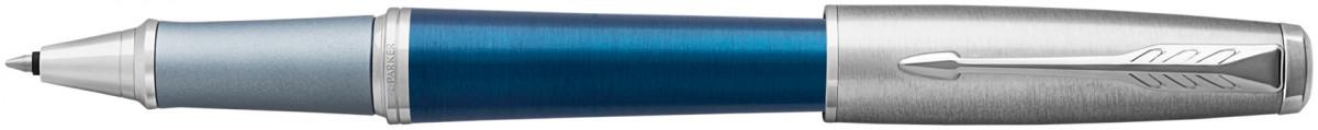 Parker Urban Premium Rollerball Pen - Dark Blue Chrome Trim