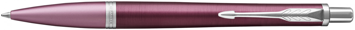 Parker Urban Premium Ballpoint Pen - Dark Purple Chrome Trim