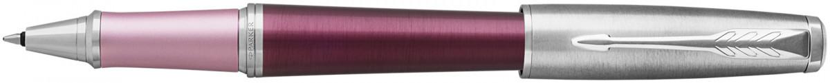Parker Urban Premium Rollerball Pen - Dark Purple Chrome Trim