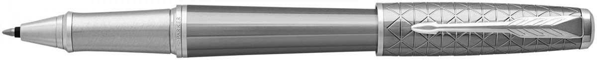 Parker Urban Premium Rollerball Pen - Silvered Powder Chrome Trim