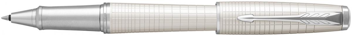 Parker Urban Premium Rollerball Pen - Metallic Pearl Chrome Trim