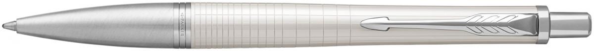 Parker Urban Premium Ballpoint Pen - Metallic Pearl Chrome Trim