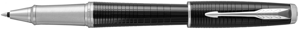 Parker Urban Premium Rollerball Pen - Metallic Ebony Chrome Trim