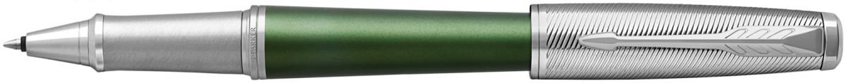 Parker Urban Premium Rollerball Pen - Green Chrome Trim