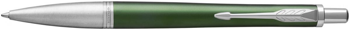 Parker Urban Premium Ballpoint Pen - Green Chrome Trim