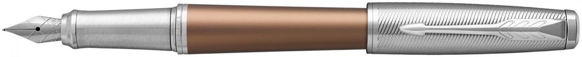 Parker Urban Premium Fountain Pen - Orange Chrome Trim