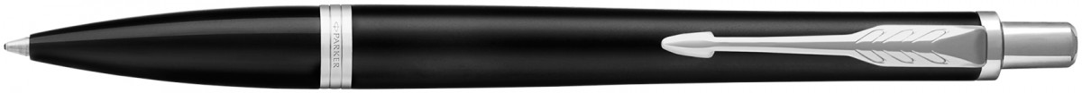 Parker Urban Ballpoint Pen - Muted Black Chrome Trim