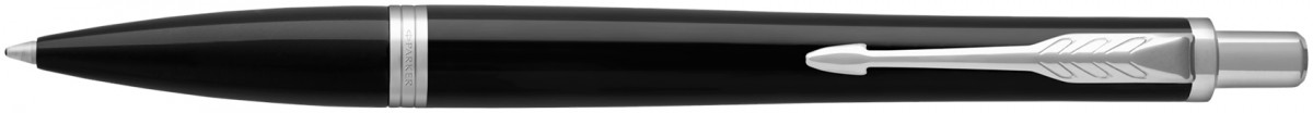 Parker Urban Ballpoint Pen - Black Cab Chrome Trim