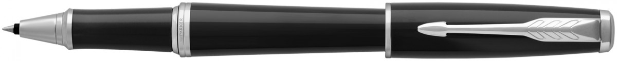 Parker Urban Rollerball Pen - Black Cab Chrome Trim