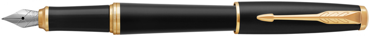 Parker Urban Fountain Pen - Muted Black Gold Trim