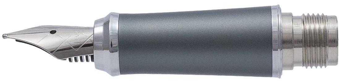 Parker Urban Dark Grey Chrome Trim Nib - Stainless Steel