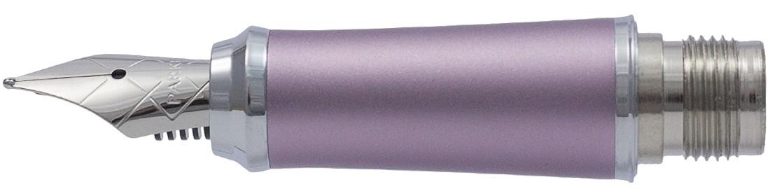 Parker Urban Purple Chrome Trim Nib - Stainless Steel