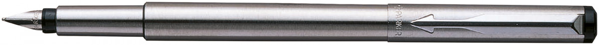 Parker Vector Fountain Pen - Stainless Steel Chrome Trim