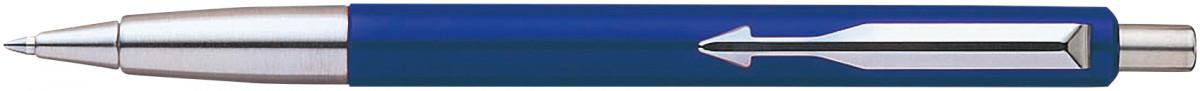 Parker Vector Ballpoint Pen - Blue Chrome Trim