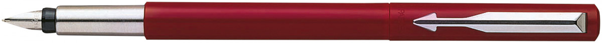 Parker Vector Fountain Pen - Red Chrome Trim