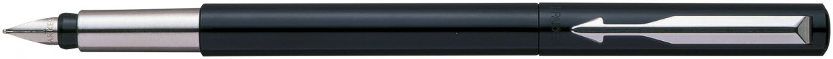Parker Vector Fountain Pen - Black Chrome Trim