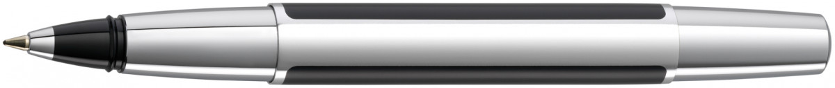 Pelikan Pura Rollerball Pen - Black & Silver
