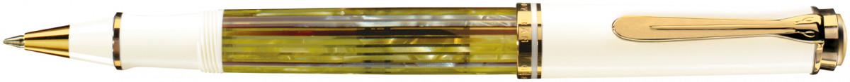 Pelikan Souverän 400 Rollerball Pen - Tortoiseshell White