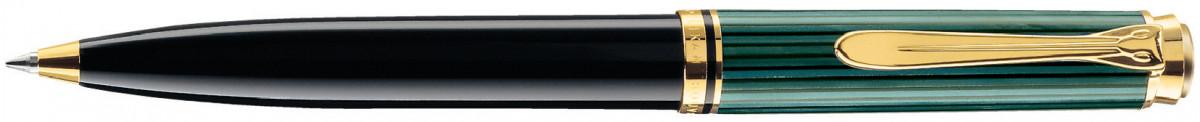 Pelikan Souverän 600 Ballpoint Pen - Black & Green