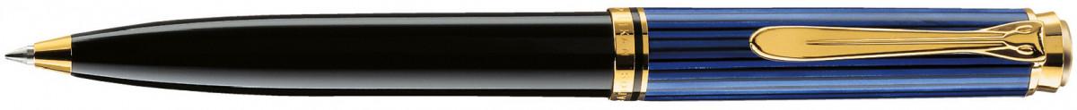 Pelikan Souverän 600 Ballpoint Pen - Black & Blue