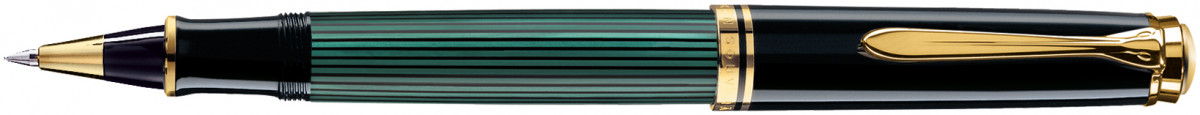 Pelikan Souverän 600 Rollerball Pen - Black & Green