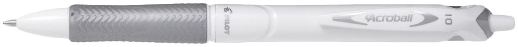Pilot Acroball Pure White Ballpoint Pen [BAB-15M-BG]